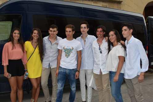 Ginés Marín, con nuestra camiseta
